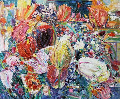 Summer Evening. 2015. Oil on canvas. 75 x 90