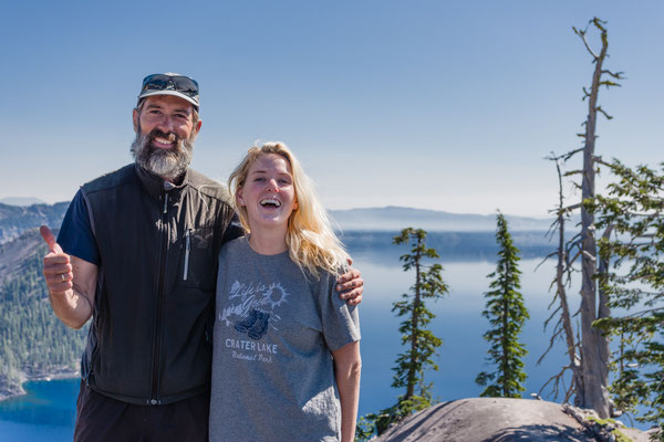 This girl hitched me from Crater Lake 250+ miles to Portland