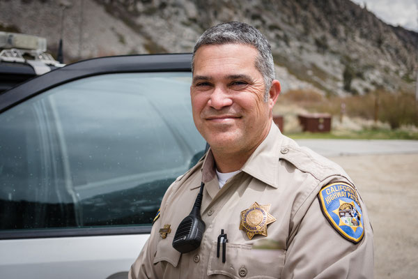 Policeofficer hitched me 55 miles back to Trail