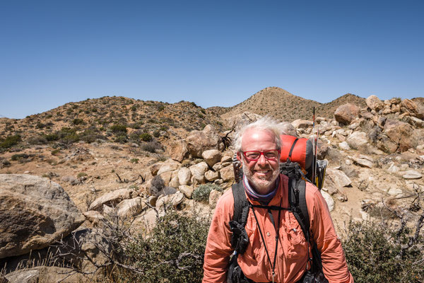 Ticky, his 2nd time on the PCT