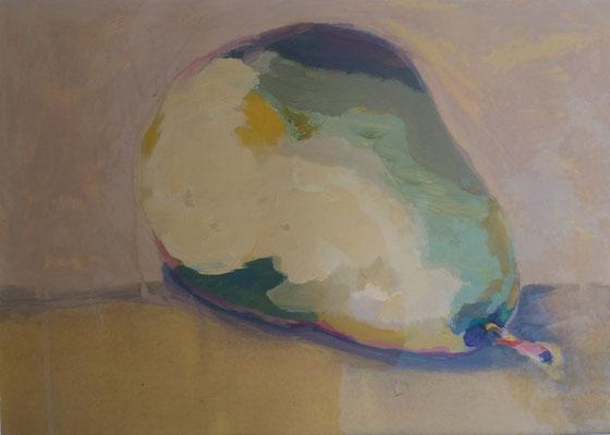 Birne3 40 x 60 cm Akryl auf Papier