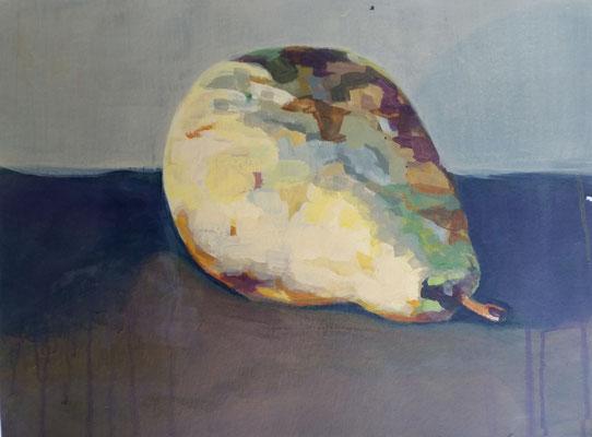 Birne2 40 x 60 cm Akryl auf Papier