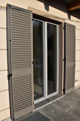 Persiane e finestre in alluminio in provincia di Como