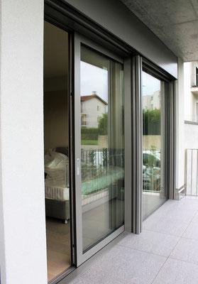 Alzante in alluminio a taglio termico - canton Ticino