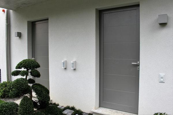 Porte d'ingresso in alluminio - Canton Ticino