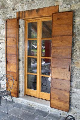 infissi in legno di rovere