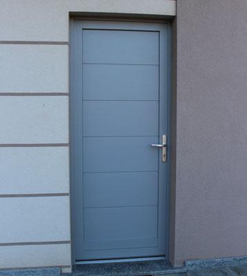 Porte d'entrata in alluminio in provincia di Como
