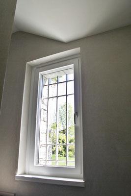 finestra in abete laccato