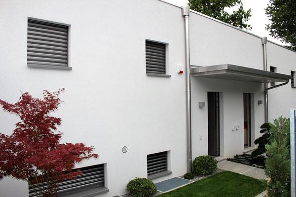 Serramenti e porte d'ingresso in alluminio in Canton Ticino