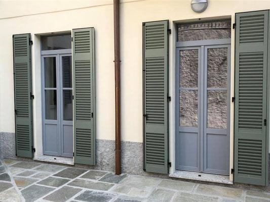 finestre e persiane in alluminio