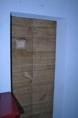 porta da cantina in legno