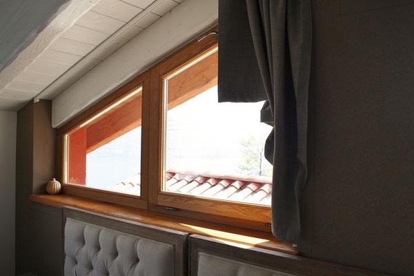 finestra a trapezio