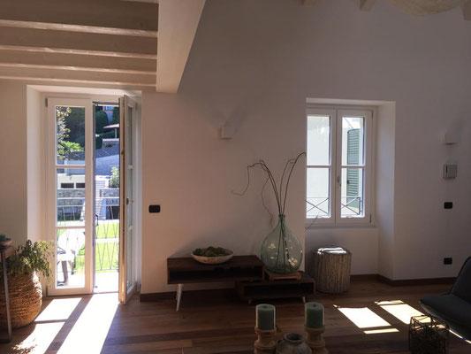finestre con traversini alla lombarda