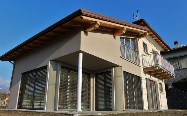 serramenti in legno alluminio provincia di Lecco