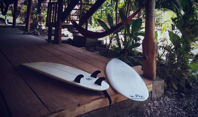 Pille + Shortboard Thruster