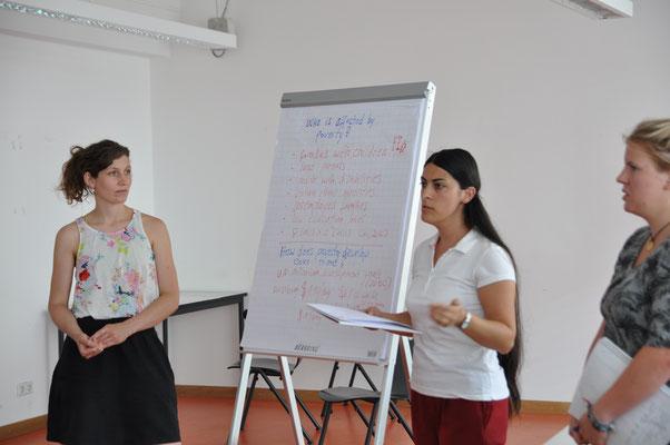 Students presentation: Fighting poverty