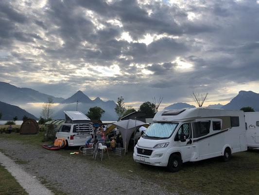 Turnschober Fitness Langenthal - Trainingsweekend Zentralschweiz 2019 - Camper