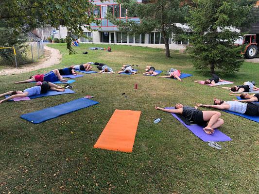 Turnschober Fitness Langenthal - Events - Trainingsweekend Jura 2018