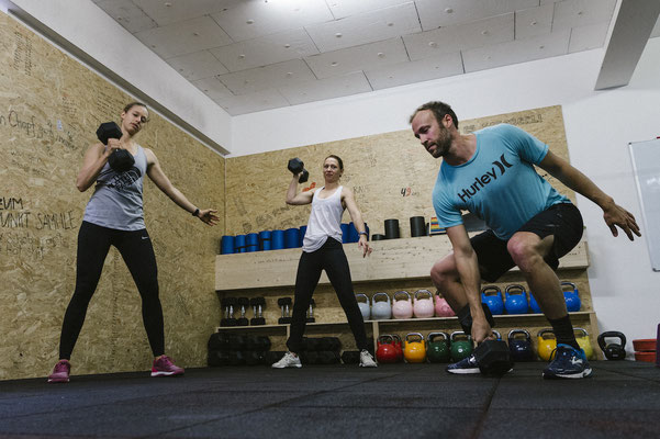 Functional Fitness Langenthal - Turnschober - Dumbbell Snatches