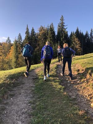Fitness Turnschober Langenthal - Wanderung auf den Napf