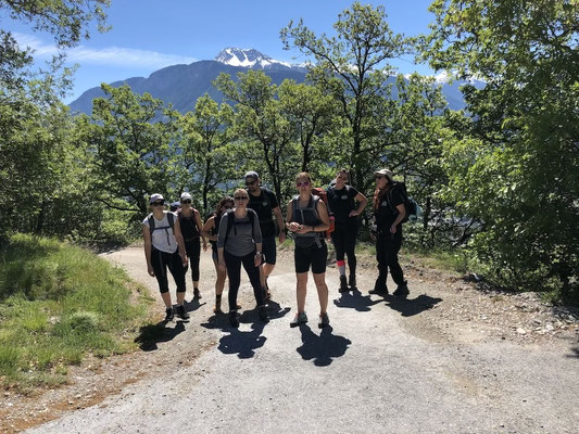Functional Fitness Langenthal - Turnschober - Wanderweekend Wallis 2019