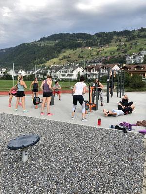 Turnschober Fitness Langenthal - Trainingsweekend Zentralschweiz 2019 - Workout