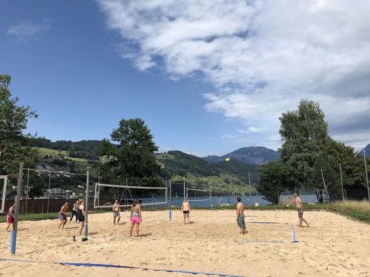 Turnschober Fitness Langenthal - Trainingsweekend Zentralschweiz 2019 - Beachvolleyball