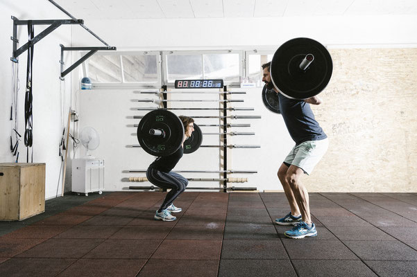 Functional Fitness Langenthal - Turnschober - Back Squats