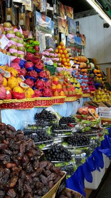 Früchte auf einem Obstmarkt in Sao Paulo