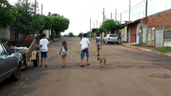 Eine Straße im Stadtteil Imperial