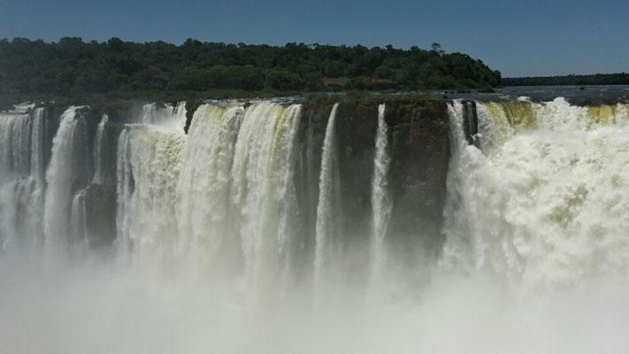 Wasserfälle Foz de Iguazu