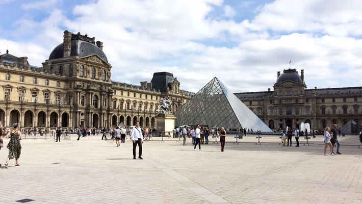 Mein Reisebericht und Tipps für Sehenswürdigkeiten in Paris, Frankreich, wie das Louvre.