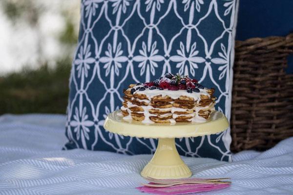 Kunterbunte und leckere Rezepte für ein sommerliches Picknick am See.