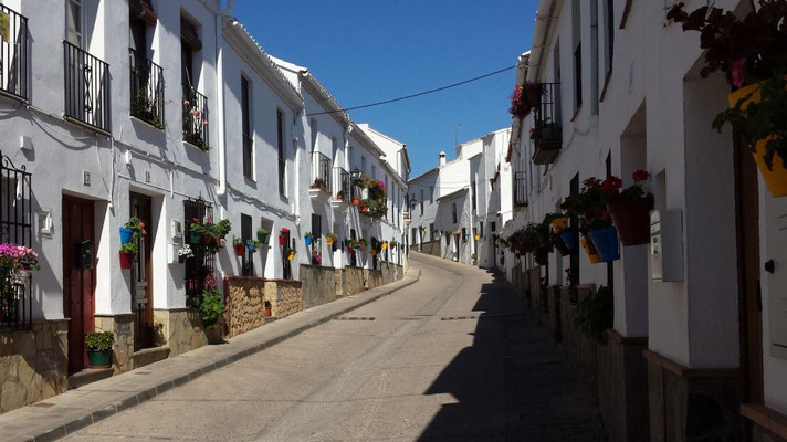 """El Gastor, the """"balcony of the white villages"""""""