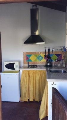 Als erstes betretet Ihr die Küche...