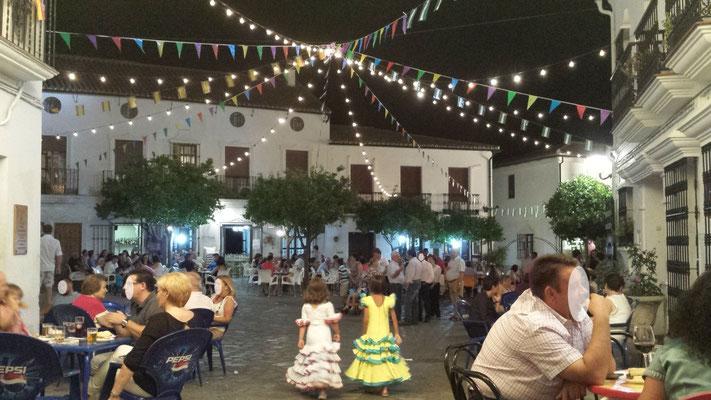 Fiesta in Zahara de la Sierra