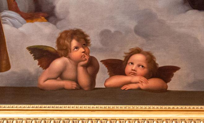 Die Engel der Sixtina (Raffael)