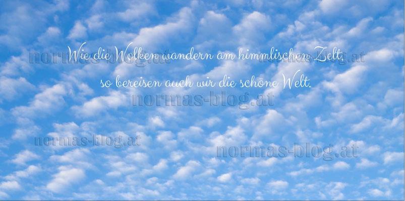 Nr. 23   Wie die Wolken...