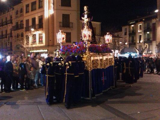 Leidensprozession in der Stadt Salamanca!