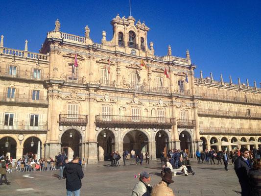 La Plaza Mayor de Salamanca, der Große Platz