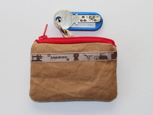 Schlüsseletui aus veganem Leder
