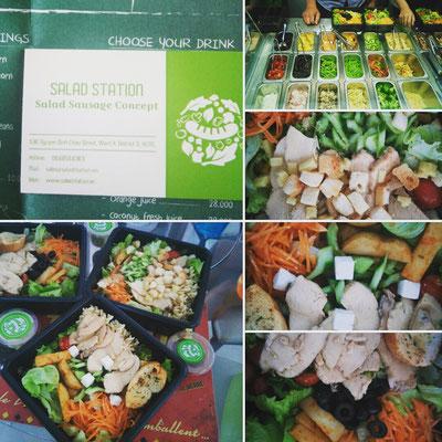 de délicieuse salades