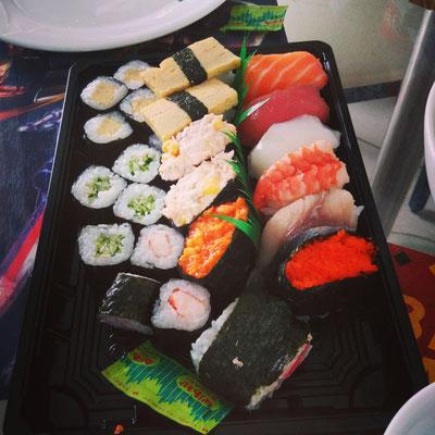 Sushi !! Ca, j'adore!!