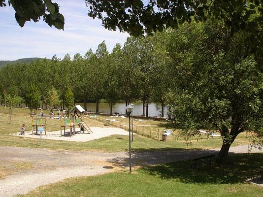 Het meertje bij vernoux; Lac aux Ramiers. Ook een mooie visplek.