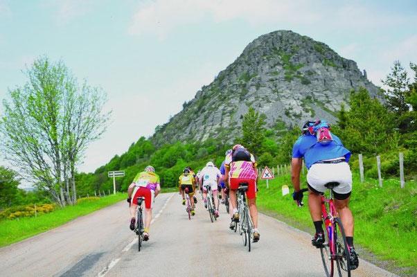 """De """"Ardéchoise"""" is een wielervierdaagse voor amateurs die in 2016 plaats vindt op 15 tot 18 juni."""