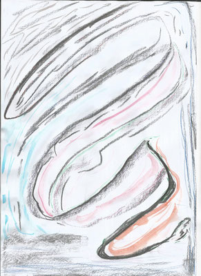 Zeichnung nach dem Sturm von Syelle Beutnagel