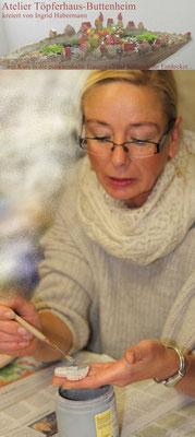 Ingrid Habermann, Die rote Keramik