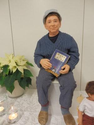 """""""Anton"""" eine Puppe von Silvia Baukloh (Foto: DM)"""