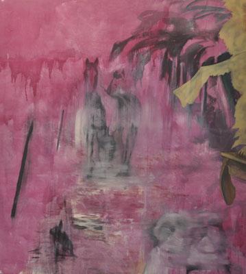 Shining, Acryl auf Baumwolle, 200 x 180 cm, 2021