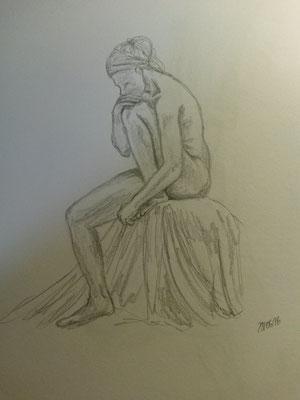 knifflige Pose